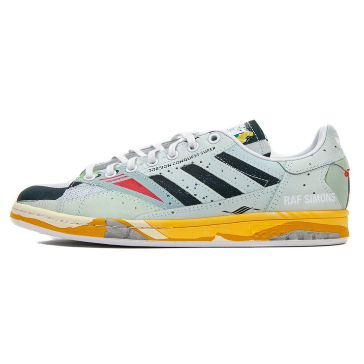 Raf Simons Torsion Stan (White/Core Black/Light Green)