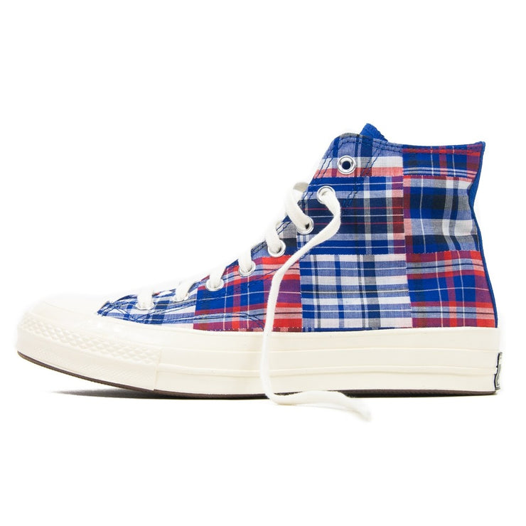 Chuck 70 Hi (Rush Blue/University Red)