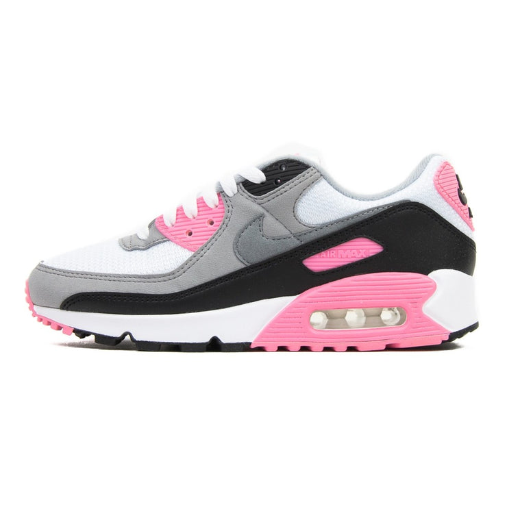 WMNS Air Max 90 (White/Particle Grey/Rose)