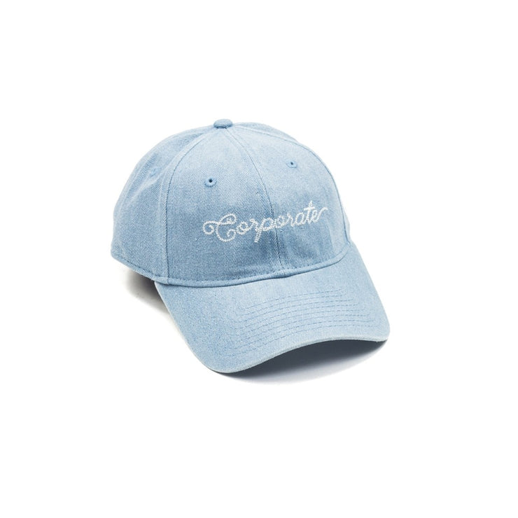 New Era Corporate Dad Hat (denim)