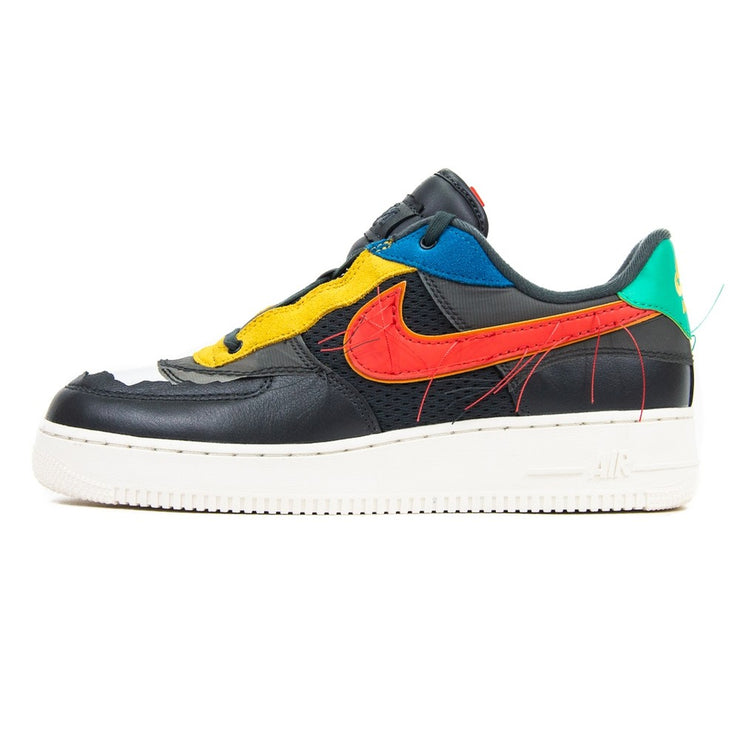 BHM Air Force 1 Low (Dk Grey Smoke/Track Red)