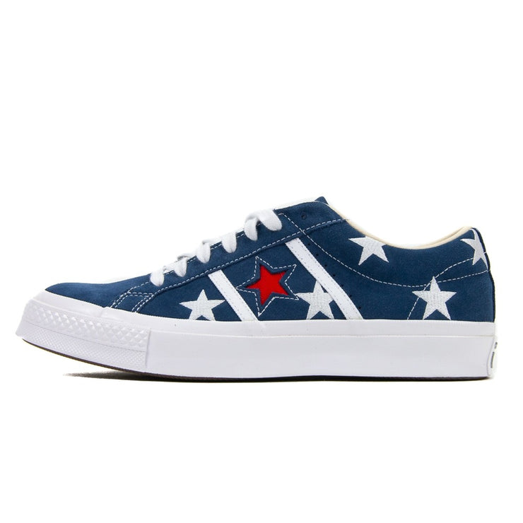 Academy Ox (Navy/Enamel Red/White)