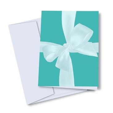 Blue Box Card (Tiffany)