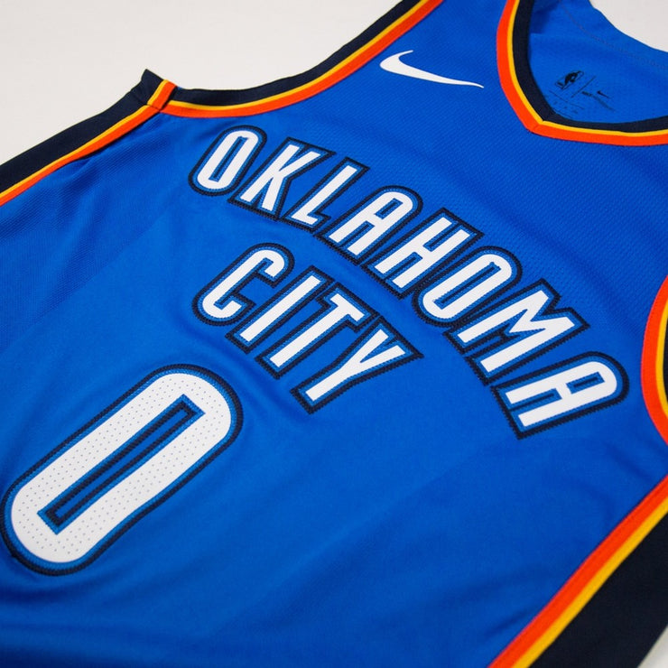 OKC Authentic Road Jersey (Westbrook)