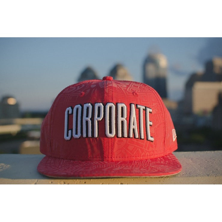 Corporate X New Era 3M Fitted (Red)