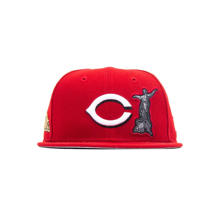 BTS x Cincnnati Reds Fitted (Red)