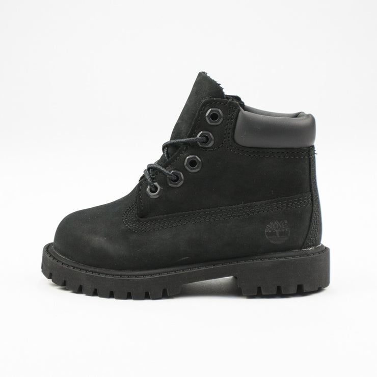 6 Inch Premium Boot Toddler (Black)