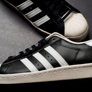 Superstar 80s (black/chalk)