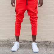 Tech Fleece Cropped Pant (Light Crimson)