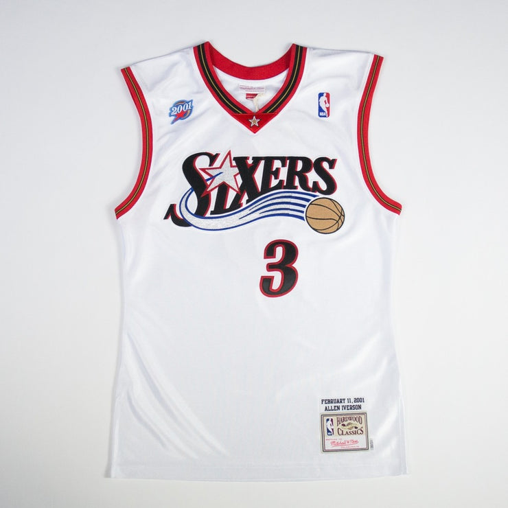 Authentic Allen Iverson Jersey (01 All Star)