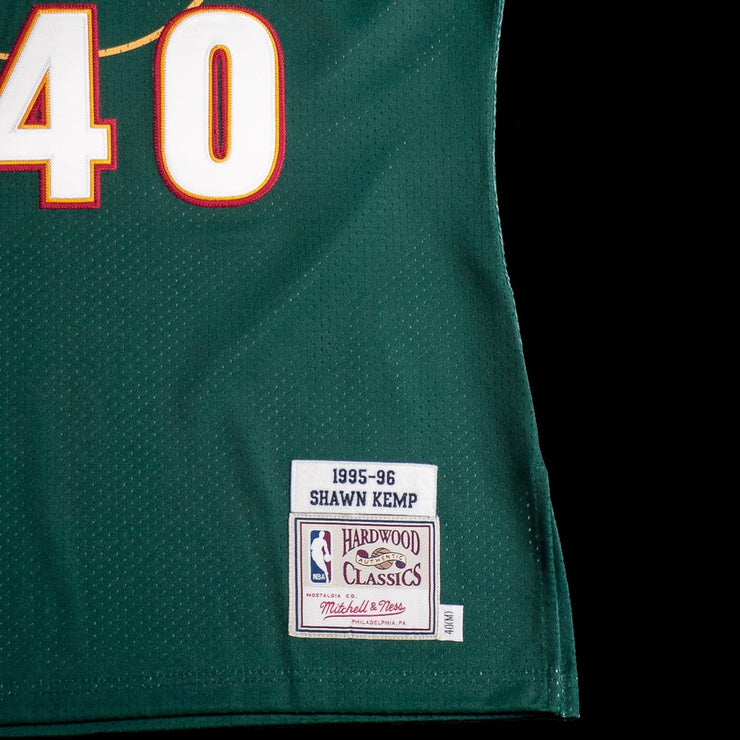 Seattle Sonics Authentic Jersey (Shawn Kemp)