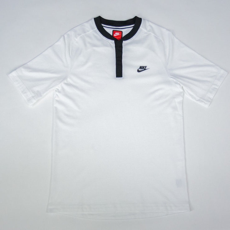 NSW Bonded Polo Shirt (White/Black)