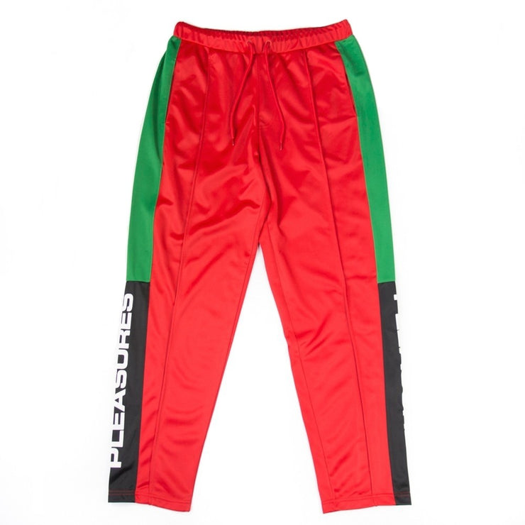 Colorblock Track Pant (Red)