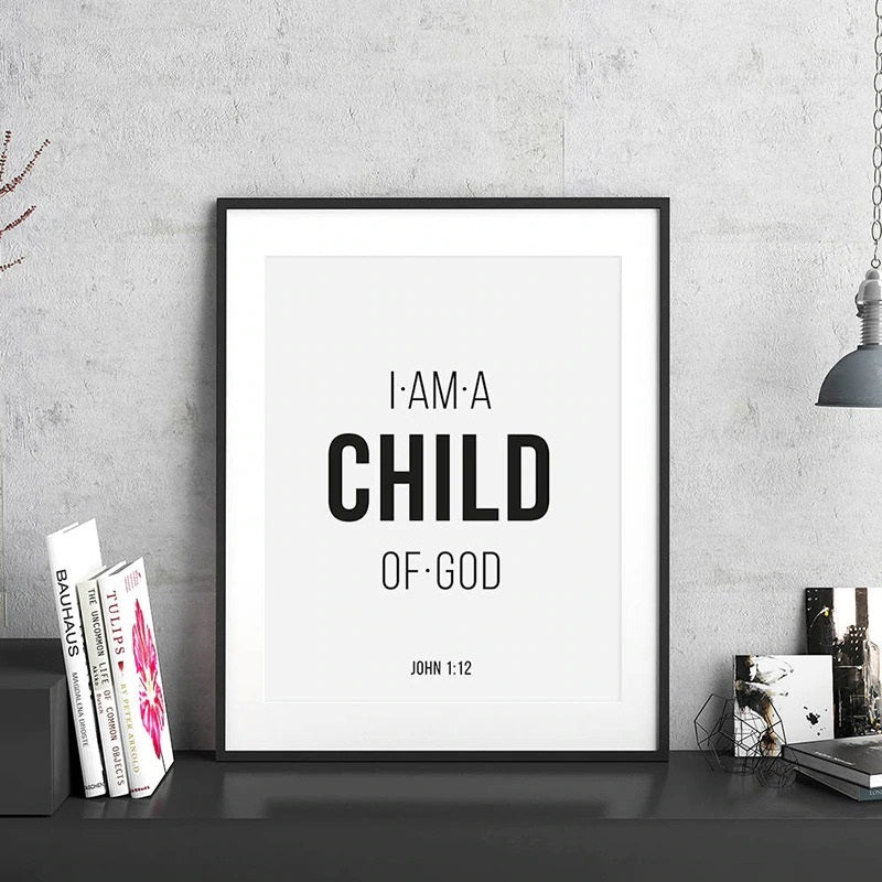 Bible Quote Wall Canvas