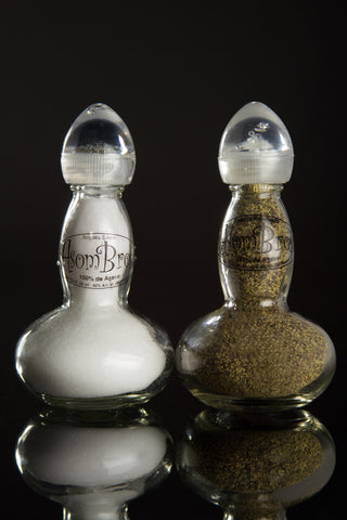 AsomBroso Tequila Salt & Pepper Shakers