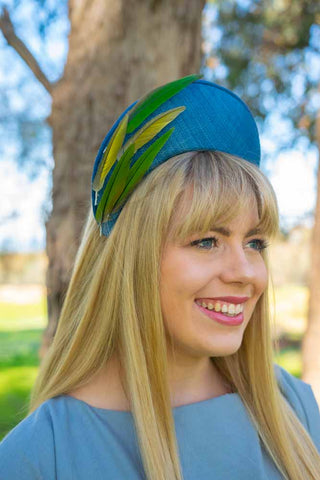 Aves Halo Backyard Ascot - Lauren J Ritchie Milliner