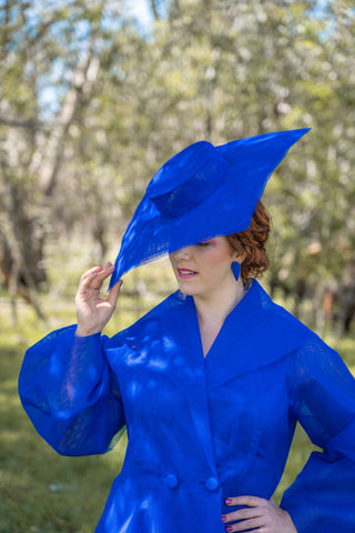 Caesia -Lauren J Ritchie Millinery - Myer Millinery Award 2020 - Fashions on Your Front Lawn