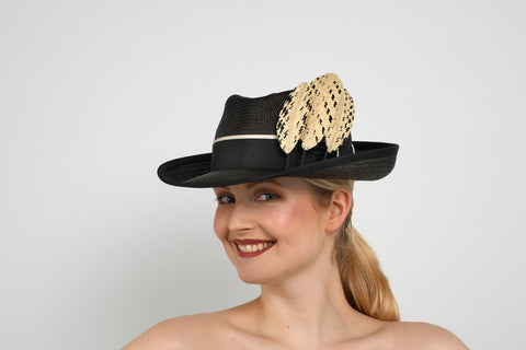 Lauren J Ritchie - NHV Hat Competition 2021 - Waste Not Want Not material fromMajesa/The Panama Hat Company