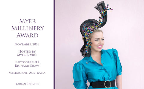 Myer Millinery Award 2018 - Awards and Competition - Lauren J Ritchie