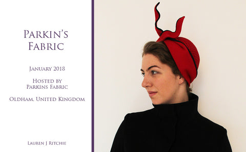 Parkins Fabric Millinery Award 2018 - Awards and Competition - Lauren J Ritchie