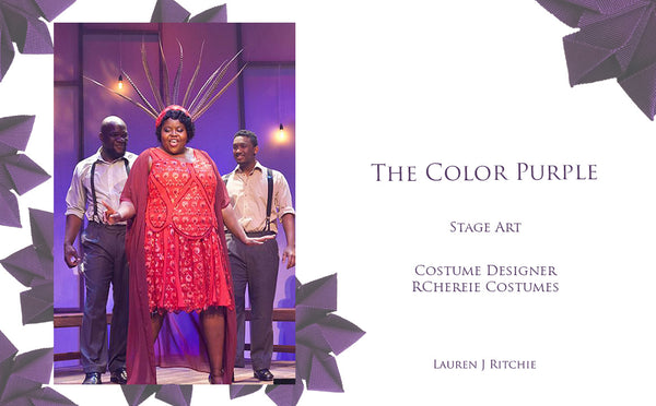 The Color Purple - RCherie Costumes - Theatrical Millinery - Lauren J Ritchie