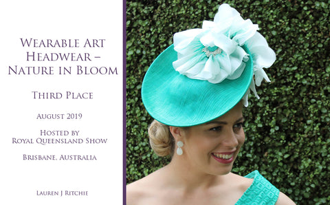 Wearable Art Headwear EKKA Queensland Show 2019 - Awards and Competition - Lauren J Ritchie
