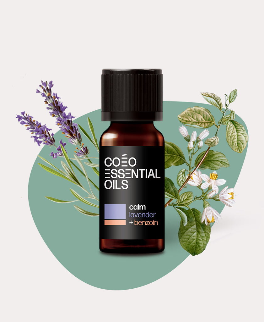 Calm Essential Oil Blend<br>Lavender & Benzoin