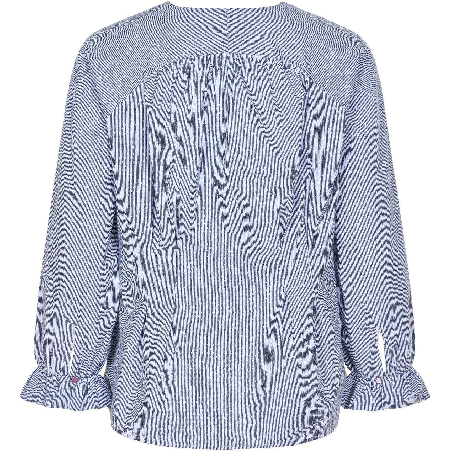 Noa Noa Art Blue Blouse