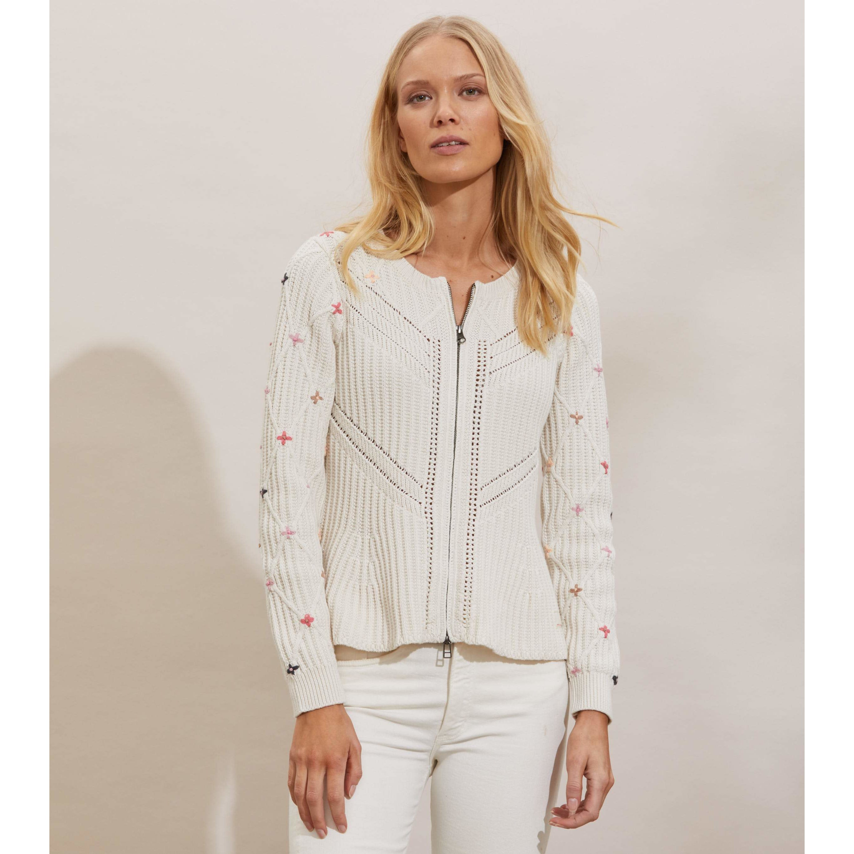 Odd Molly Courtney Cardigan Chalk
