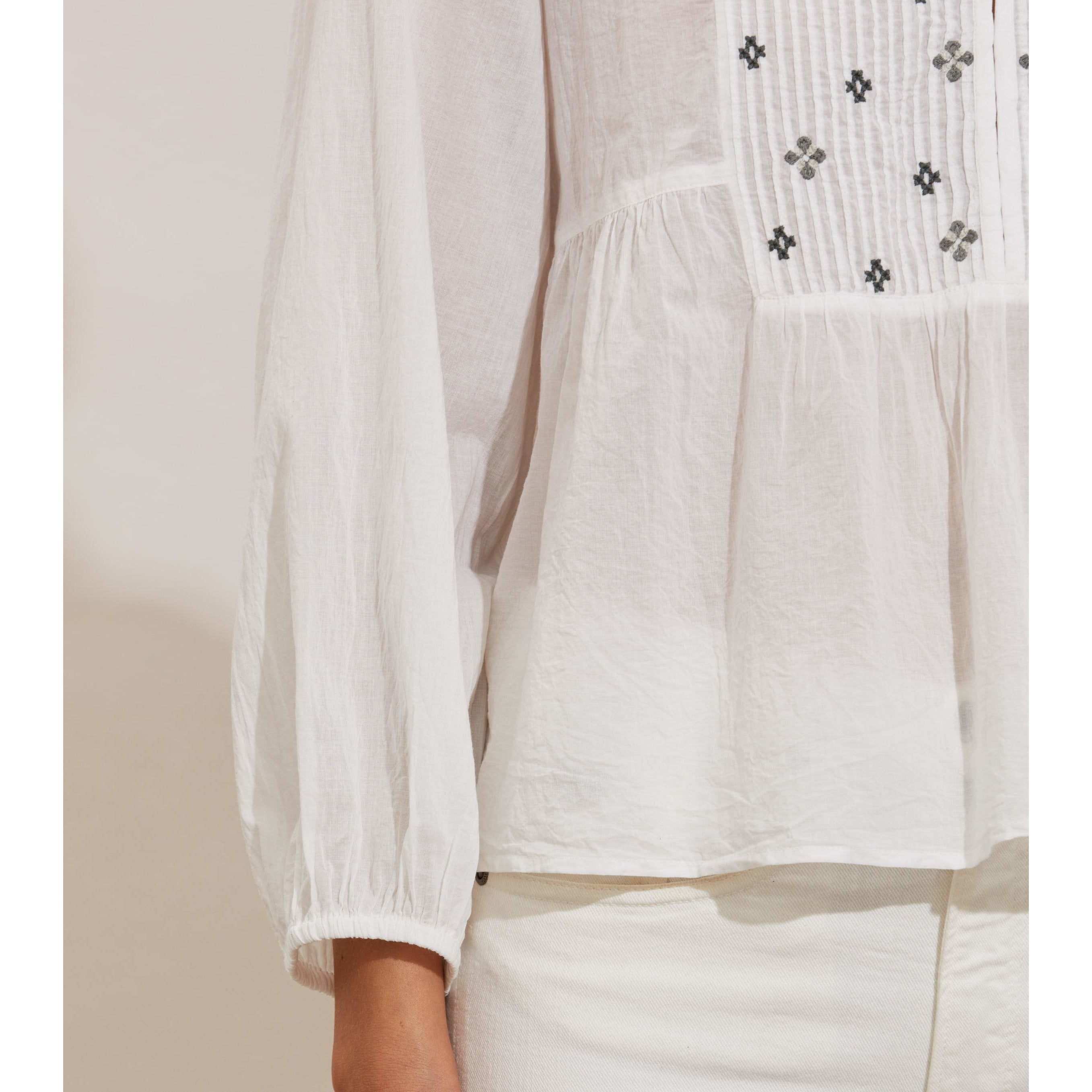 Odd. Molly Kayla Blouse Chalk