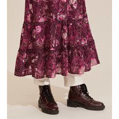 Odd Molly Doreen Dress Dark Purple