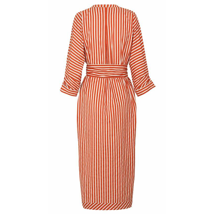 Noa Noa Fine Cotton Stripped dress