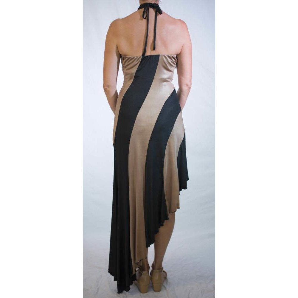 Lovelita  Black and Gold Gown  S4