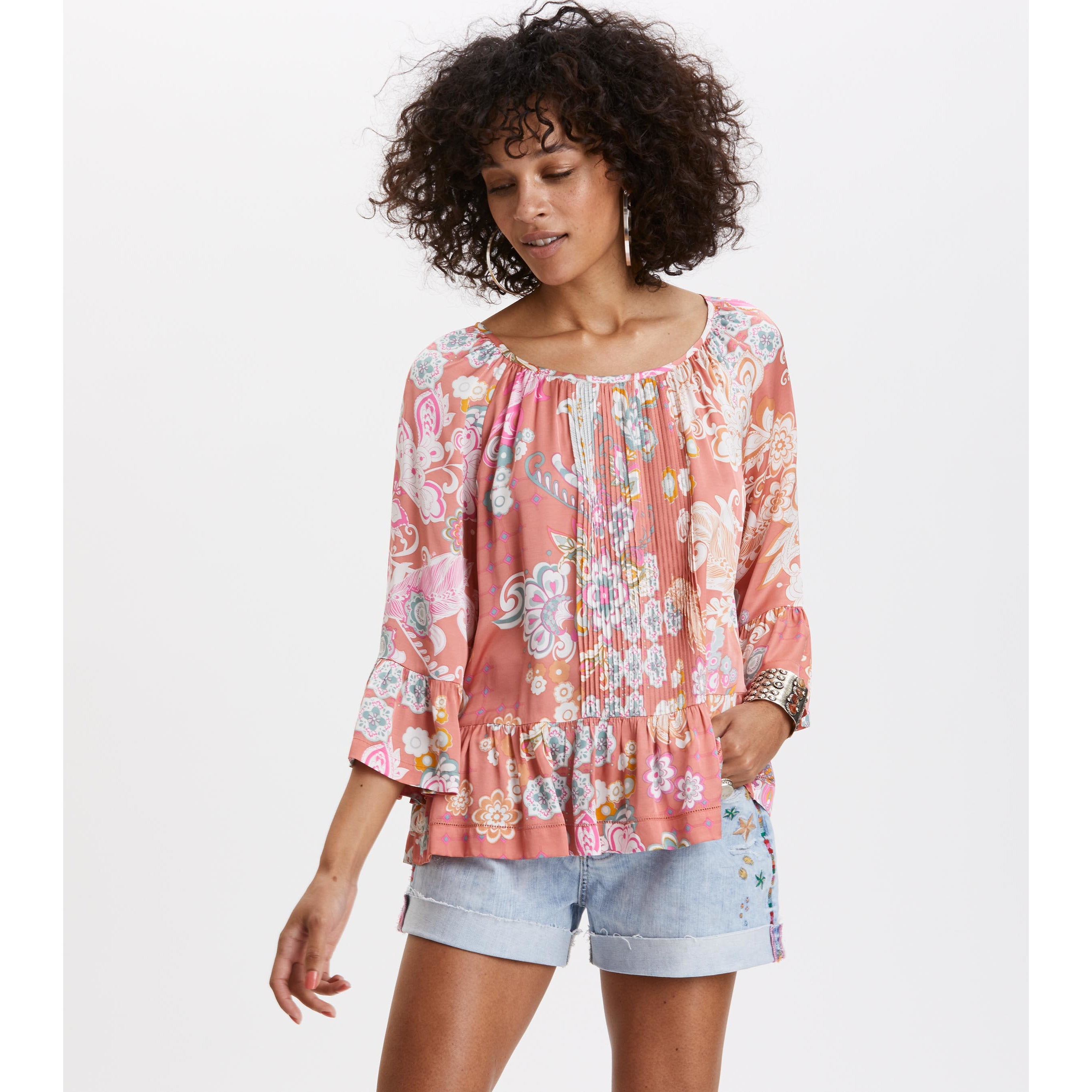 Odd Molly L-S Wonderland Blouse