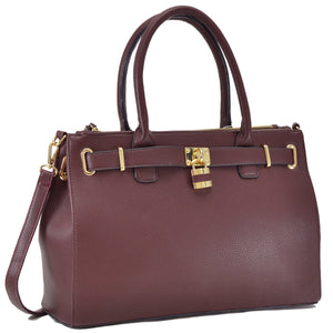 The Brown Madison Tote