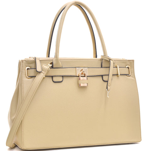 The Beige Madison Tote