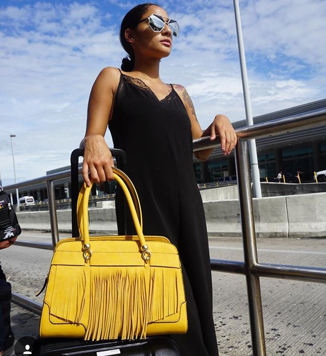 The Black Kim Tote