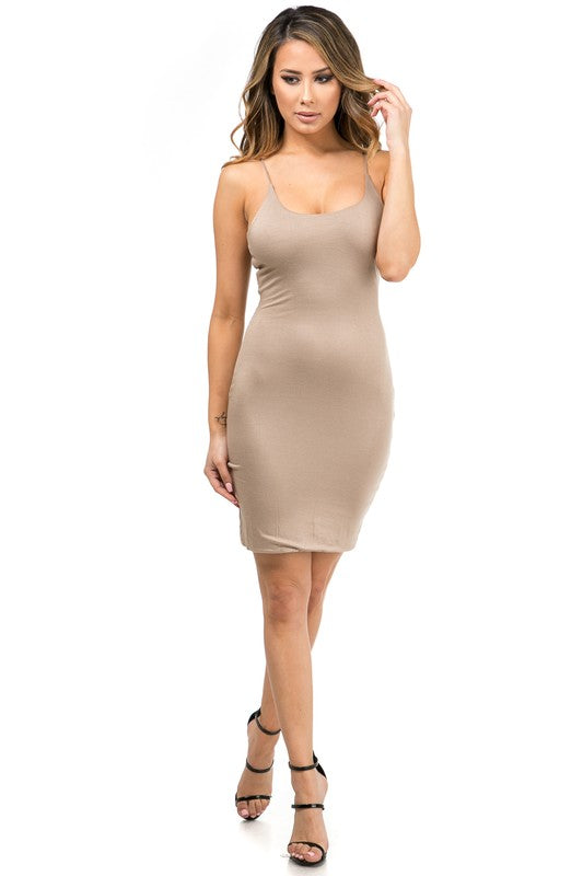 The Nude Double Layered Tank Dress