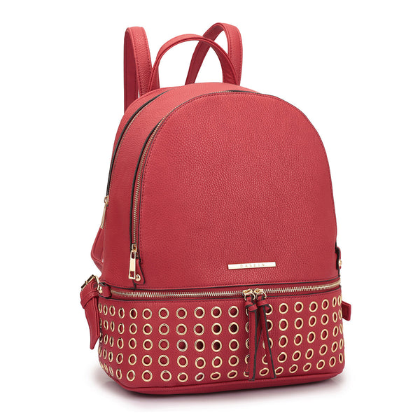 The Red Olivia Backpack