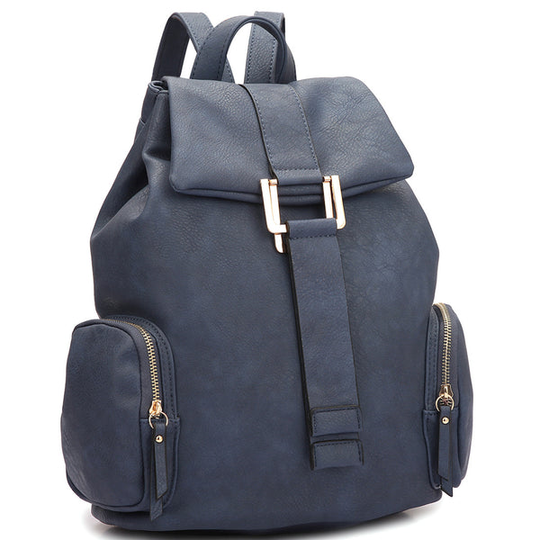 The Navy Erika Backpack