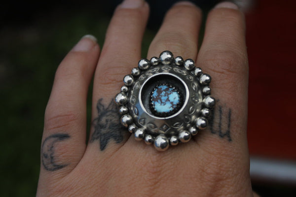 Lavender Shadow box ring Us size 6-6.5