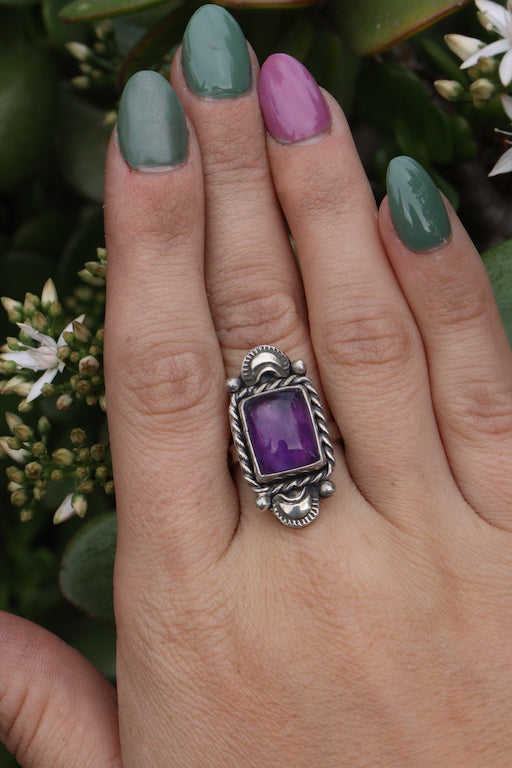 Amethyst Rings (two sizes available)
