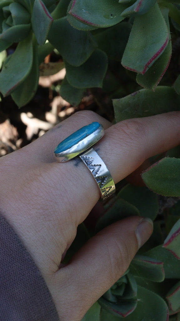 Turquoise Forest ring size - 9