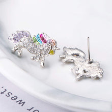 Load image into Gallery viewer, UNICORN SILVER RAINBOW JEWELRY SET