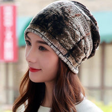 Load image into Gallery viewer, 3 Way Forest Winter Beanie-Boots N Bags Heaven