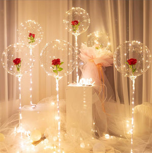 【🔥Today 50%】LED Balloon Rose Bouquet
