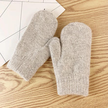 Load image into Gallery viewer, Double Layer Wool Winter Gloves