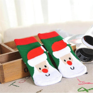 Christmas Day Winter Socks for Toddlers-Boots N Bags Heaven