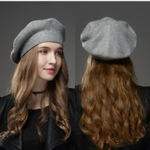 Load image into Gallery viewer, Thick Studded Winter Hat Beret-Boots N Bags Heaven