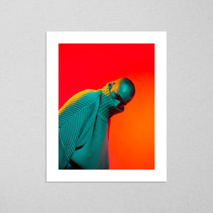Daniel, moody and vibrant photography fine art giclée print on Hahnemühle Pearl paper by Adrian Wojtas